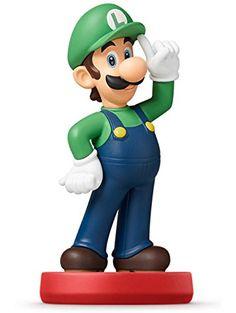 Luigi amiibo - Japan Import (Super Mario Bros Series) ❤ Nintendo