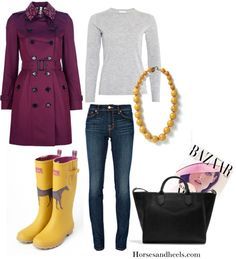 Yellow: March Color of the Month on Horses & Heels