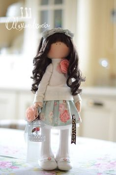 VK is the largest European social network with more than 100 million active users. Pretty Dolls, Beautiful Dolls, Homemade Dolls, Sewing Dolls, Doll Tutorial, Clay Dolls, Waldorf Dolls, Dollhouse Dolls, Soft Dolls