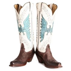BootDaddy Collection with Tony Lama Chocolate Zulu Cowgirl Boots