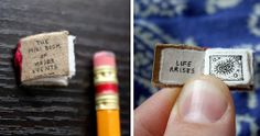 The world's smallest book about the world's most significant events. A fun handmade illustrated book by Evan Lorenzen.