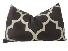 Decorative Designer Pillow Cover12x18 inchChocolate by nenavon, $28.00