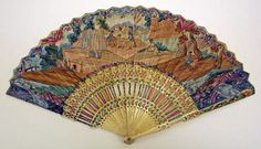 18th century French ivory fan