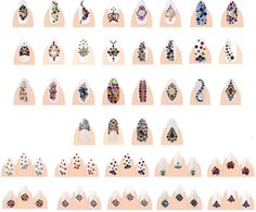 Swarovski Crystals, Create Your Style With Swarovski Elements, Swarovski Elements, Swarovski Crystal Nails, Swarovski Flat Backs for Nails, Nail Art Rhinestones, Nail Crystals, Nail Design, Nail Bling, Crystal Nails, Swarovski