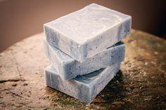 Blue Sugar Bar Soap Citrus Sweet Organic by FriendlyBodyProduct