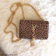 YSL bag with animal prints. #ysl