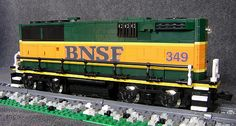 BNSF GP60B right   Nothing inside those doors at the rear ye…   swoofty   Flickr