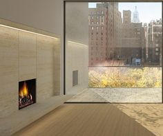 GRAMERCY PARK - living room Architecture & Interior Design by JOHN PAWSON
