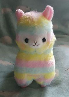 Authentic AMUSE Alpacasso Rainbow Alpaca Plush > 17,-