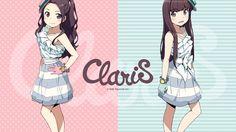 【俺妹&エロ妹ステージ】 かんざきひろ先生、「お気に入りの作品は?」の質問にClariSのironyイラストを挙げる。「写真も見せていただいて、頑張って似せたつもり」とのこと。 ぜひ新生ClariSもオナシャス! #ClariS