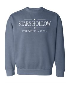 Stars Hollow Comfort Colors Sweatshirt by BolingbrookApparel