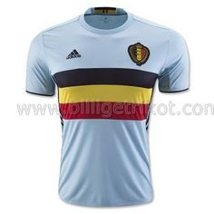 ebd1d296a Maillot Belgique Euro 2016 Extérieur National Football Teams