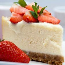 Easy Cheesecake.  I wonder if you can use this with strawberry or orange jello?  From Mydailymoments.com