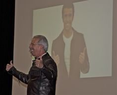 """Designated Broker, Gerry Russell, as """"The Fonz"""" at the October 31 Executive Event."""