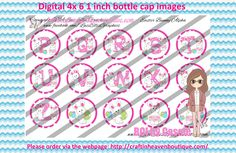 1' Bottle caps (4x6) Digital easter bunny alpha 2 #ALPHABET #NUMBERS #bottlecap #BCI #shrinkydinkimages #bowcenters #hairbows #bowmaking please purchase via link   http://craftinheavenboutique.com/index.php?main_page=index&cPath=323_533_42_45