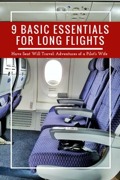 9 Basic Essentials to Make Long Flights Bearable - Have Seat Will Travel: Adventures of a Pilot's Wife