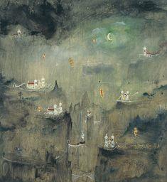 Retrospectiva mostra a arte do pintor brasileiro Alberto da Veiga Guignard, no Museu de Arte Moderna de São Paulo