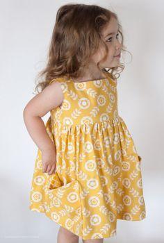 Sally Dress PDF Sewing Pattern   Supply   Patterns   Kollabora