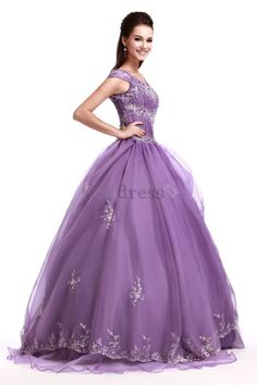 Romantic Hourglass Floor Length Short Sleeves Lace-up Winter Pear Embroidery Misses Quinceanera Dress