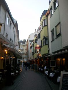 I walked down this street in Wiesbaden every day!