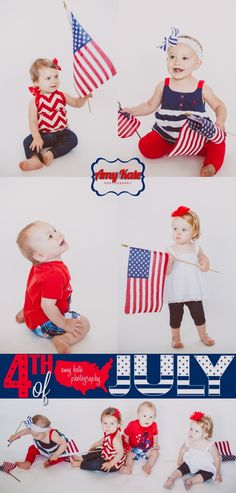 Fourth of July Baby Photos
