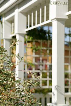 Gemütliche Porch - Spalier als Sichtschutz vor fremden Blicken Greenville - Architektur