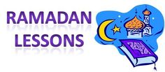 Ramadan Lessons, Crafts and Activities