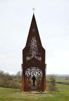 PHOTOS. Une église bâtie comme un mirage à Looz en Belgique
