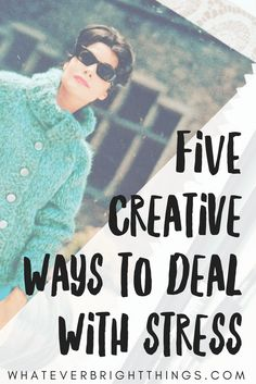 Instead of letting negative energy consume you, what if you could channel it into creating something beautiful? Here are Five Creative Ways to Deal with Stress that will help you heal and center yourself. Dealing With Stress, Stress Less, Depression Support, Stress Relief Tips, You Are Important, Finding Happiness, Blog Love, Spiritual Health, Health And Fitness Tips
