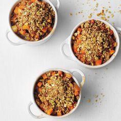 Pumpkin-Pear Crisps   Bon Appétit          Pumpkin-Pear Crisps Recipe  at Epicurious.com