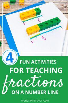 3rd Grade Fractions, Teaching Fractions, Fourth Grade Math, Math Fractions, Teaching Math, Help Teaching, Maths Guidés, Math Classroom, Classroom Decor