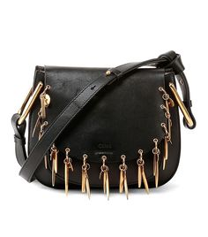 Chloe Hudson Mini Charm Shoulder Bag ($2450) 8 Outfits L.A. Girls Wear Over and Over Again via @WhoWhatWear