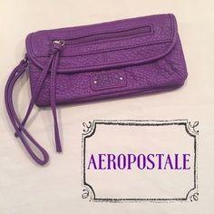 Aeropostale Handbags - Soft Leather Like Aeropostale Wallet Wristlet