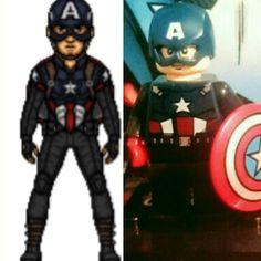 Lego bucky cap Bucky, Legos, Captain America, Superhero, Fictional Characters, Art, Art Background, Lego, Kunst