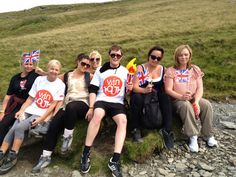 Win4youth challenge smashed by north west! Snowdon, 8 of us, 72 miles, broken!