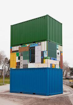 Real-Life Tetris by Michael Johansson