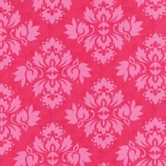 Nap Mat  Monogrammed Hot Pink Damask Nap Mat by PreciousnProsper
