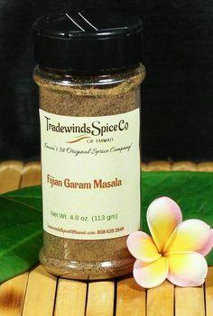 Fijian Garam Masala - Tradewinds Spice of Hawaii - Kauai's First, Original Spice Company! Coriander Spice, Spice Company, Garam Masala, Kauai, Spices, Herbs, Homemade, The Originals
