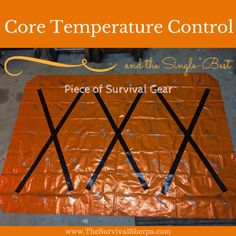The Modified Super Shelter - Creating a survival shelter to reflect heat is, in the author's opinion, the single best piece of survival gear for core temperature control but this one is a little better than just tossing up a single mylar blanket...