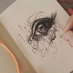 Pencil art, art drawings beautiful, awesome drawings, beautiful artwork, am Art Drawings Beautiful, Beautiful Sketches, Cool Sketches, Beautiful Artwork, Cool Drawings, Amazing Sketches, Eye Drawings, Art Couple, Art Tumblr