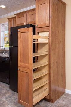 kitchen storage cabinets 10 ways good tiny home design is used in manufactured and modular homes. buvduxq – Designalls Images of kitchen storage cabinets kitchen cabinets ideas for storage delighful kitchen cabinets ide Kitchen Cabinet Storage, Farmhouse Kitchen Cabinets, Kitchen Cabinet Design, Storage Cabinets, Interior Design Kitchen, Kitchen Decor, Kitchen Designs, Corner Cabinets, Ikea Kitchen