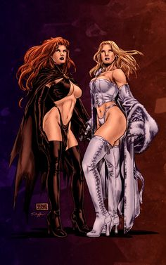 Emma Frost: Black Queen and White Queen