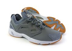 super popular dda47 337b7 Reebok Fury Adapt men s casual shoes sneakers kicks Asteroid Dust White  Grey New  Reebok
