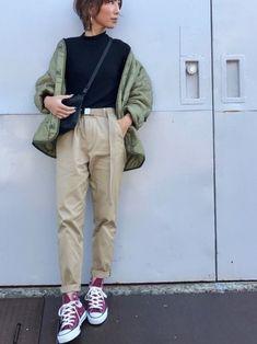 new styles 9de3f c7fa4 Kumika☆|ノーカラージャケットを使ったコーディネート