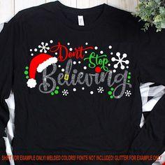 Christmas Svg, Christmas Shirts, Christmas Ideas, Christmas Stuff, Holiday Ideas, Christmas Time, Christmas Decorations, Silouette Cameo Projects, Santa Ho Ho Ho