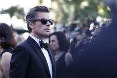 Benjamin Biolay a Cannes (foto GettyImages, look Brioni)