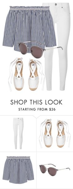 """Monday"" by smartbuyglasses-uk ❤ liked on Polyvore featuring Burberry, Madewell and Yves Saint Laurent"