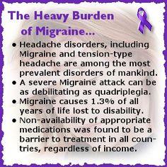 Natural Headache Remedies The heavy burden of migraine Migraine Cause, Migraine Attack, Severe Migraine, Migraine Pain, Chronic Migraines, Migraine Relief, Chronic Pain, Fibromyalgia, Chronic Illness