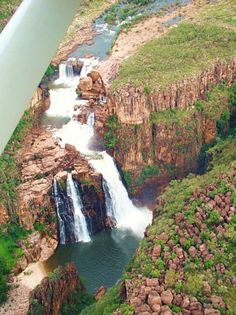 Sat under these waterfalls after a swim and a hike. Darwin Australia, Moving To Australia, Western Australia, Australia Travel, Twin Falls, Environment Design, Free Travel, Continents, Amazing Places