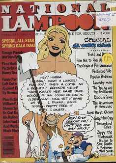 Vintage Magazines, Vintage Ads, National Lampoon Magazine, Popular Problems, American Humor, Rockabilly Art, Pin Up Girl Vintage, National Lampoons, Adult Humor